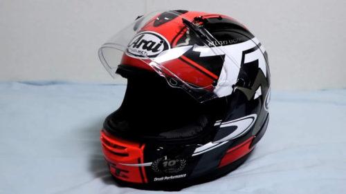 アライのヘルメットRX-7X