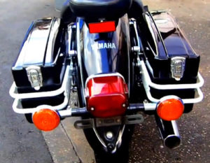 バイク用サイドボックス