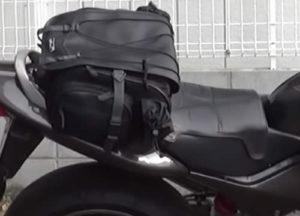 バイク用リアシートバッグ