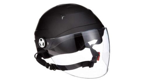リード工業(LEAD) ハーフヘルメット シールド付き RE41
