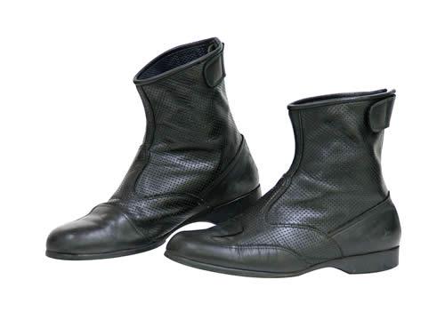 コミネ BK-066 エアスルーショートブーツ ブラック