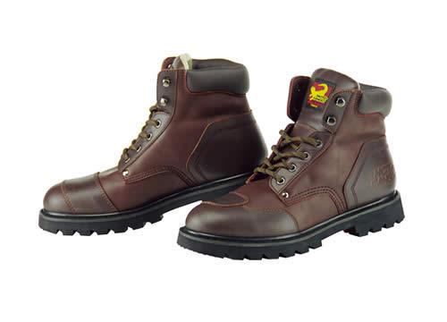 コミネ SB-21 Short Boots ショートブーツ ブラウン