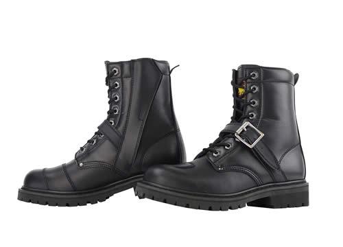 コミネ SB-81 Middle Boots ミドルブーツ ブラック