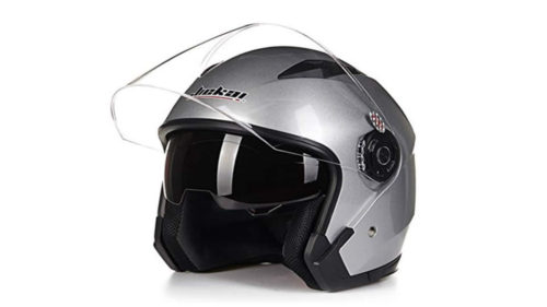 JIEKAI バイク用 ジェットヘルメット JK-512