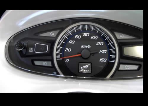 PCX125 EBJ-JF28 スピードメーター周り