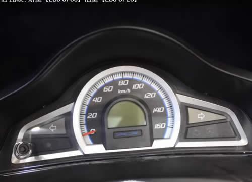 PCX125 EBJ-JF56 スピードメーター周り